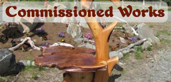 Commissioned Wood Sculpture Artist
