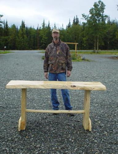 Spruce Custom Carved Dining Table